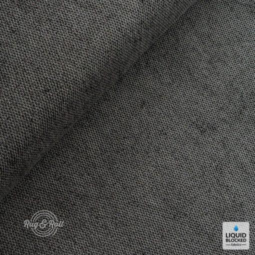 TARIM 19 - fekete, magas kopásállóságú, vízlepergető bútorszövet