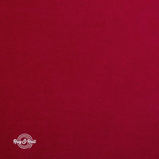 SUPER 256 - piros, vízzel tisztítható prémium bársony bútorszövet