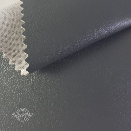 Non Plus 620-sötétszürke, extrém kopásállóságú, fertőtleníthető, színes prémium textilbőr