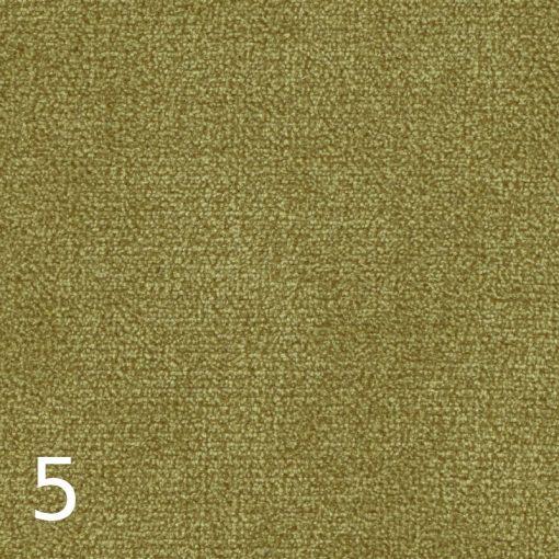 ALFA 5 - világoszöld, puha felületű, magas kopásállóságú  bútorszövet