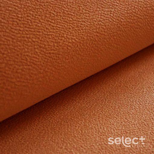 MITEZZA 13 - narancssárga,  puha tapintású, velúros felületű textilbőr