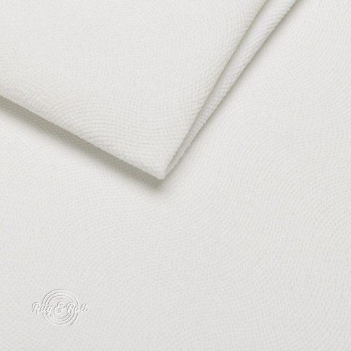 LOCA 1 - fehér, nyomott mintás vízzel tisztítható bútorszövet