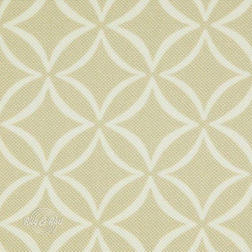 EVO 25 - bézs, geometrikus mintás bútorszövet