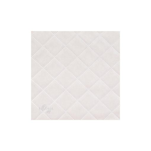 Salvador Caro 16 - halványszürke, könnyen tisztítható, steppelt, kárómintás bársony bútorszövet