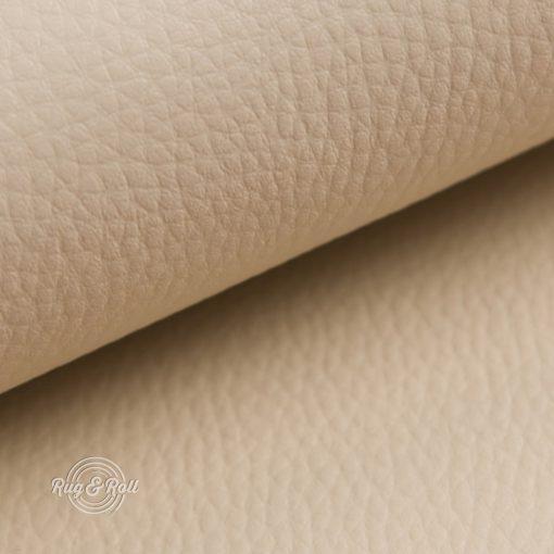 DOLLÁR 2 - bézs, valódi bőr hatású, erezett felületű műbőr