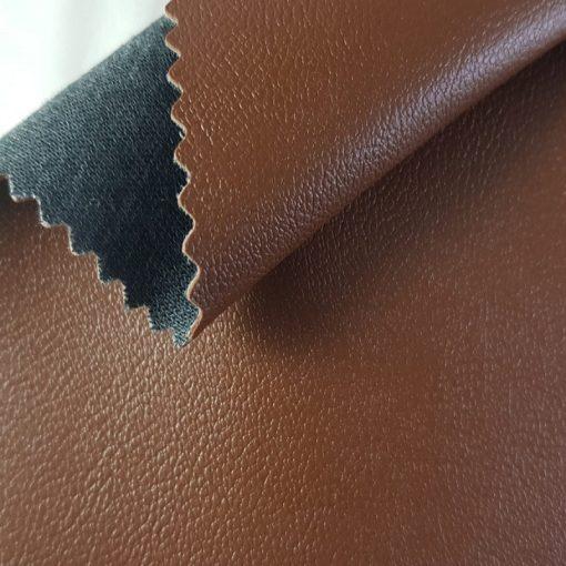 Non Plus 327-barna, extrém kopásállóságú, fertőtleníthető, színes prémium textilbőr