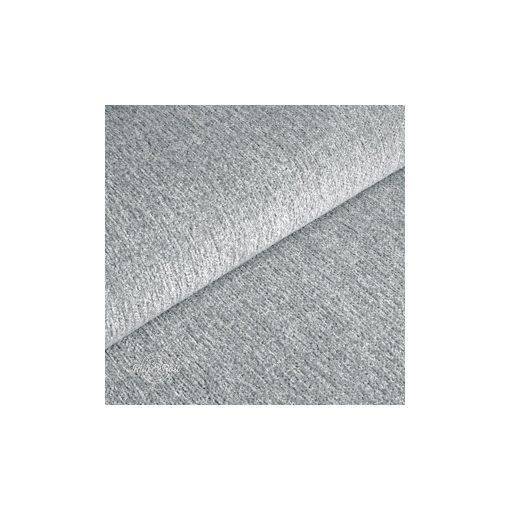 Tessero 4 - halványszürke, zseníliás felületű, puha kellemes tapintású bútorszövet