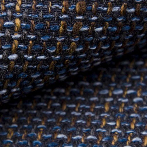 NEVADA 15  - sötétszürke barnával és kékkel, magas kopásállóságú zsákszövet