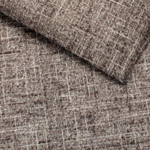 BATUMI 5507 - taupe, szürkésbarna, bársonyos tapintású, modern, extravagáns megjelenésű bútorszövet
