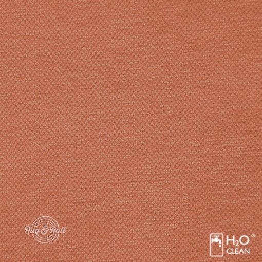 LIBERTO 8 - narancssárga, vízzel tisztítható bútorszövet