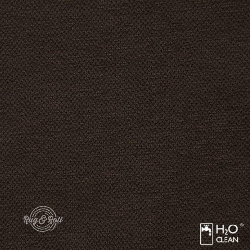 LIBERTO 5 - sötétbarna, vízzel tisztítható bútorszövet