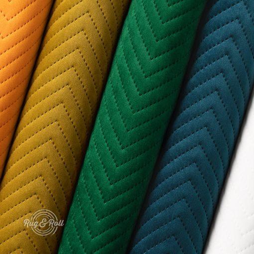 AMOR PIK nyomott mintás, vízlepregető prémium bútorszövet 22 színben