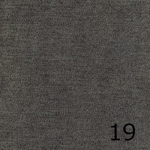 ALFA 19 - galambszürke, puha felületű, magas kopásállóságú  bútorszövet