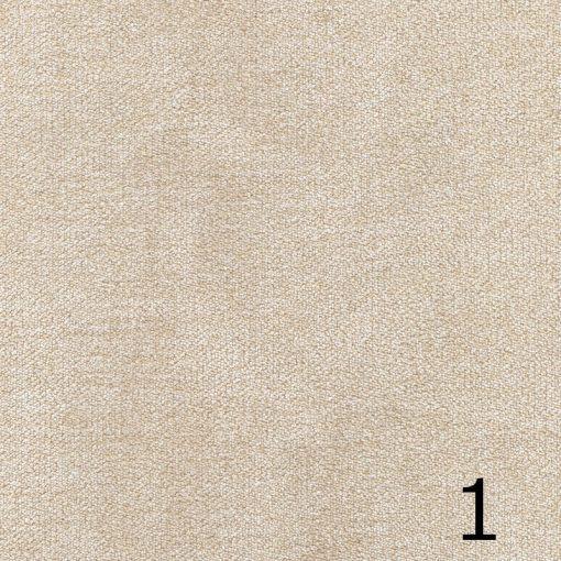 ALFA 1- krém, puha felületű, magas kopásállóságú  bútorszövet