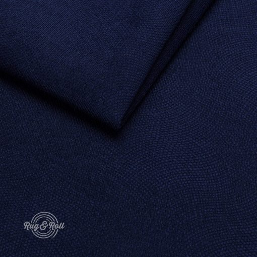 LOCA 13 - sötétkék, nyomott mintás vízzel tisztítható bútorszövet