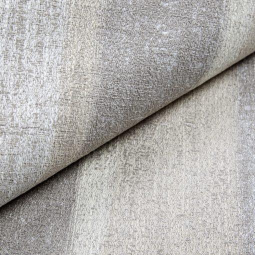 RIGATTO 3-bézs ezüsttel átszőtt, mintás, légáteresztő modern bútorszövet