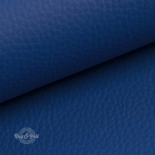 DOLLÁR 12 - kék, valódi bőr hatású, erezett felületű műbőr