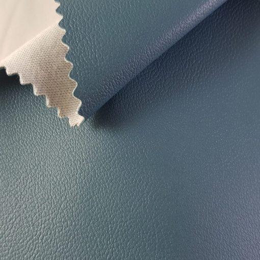 Non Plus 413-türkiz, extrém kopásállóságú, fertőtleníthető, színes prémium textilbőr