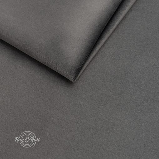 AMOR VELVET 4321 - sötétszürke, vízlepregető prémium bútorszövet