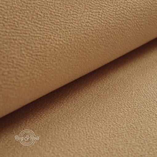 MITEZZA 6 - mogyorószín, puha tapintású, velúros felületű textilbőr