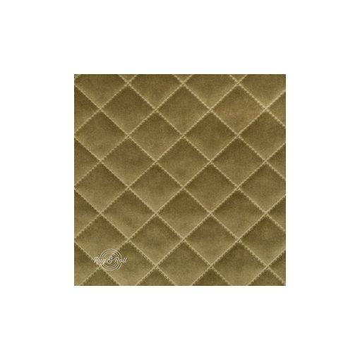 Salvador Caro 8 - világos mohazöld , könnyen tisztítható, steppelt, kárómintás bársony bútorszövet