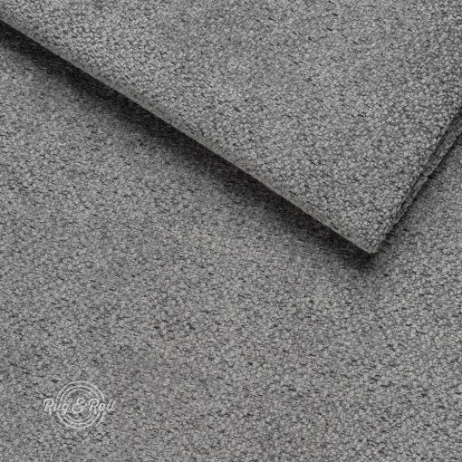 NAOMI 3402 Steel - könnyen tisztítható, vízlepergető bútorszövet