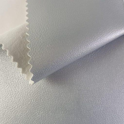 Non Plus 600-ezüst, extrém kopásállóságú, fertőtleníthető, színes prémium textilbőr