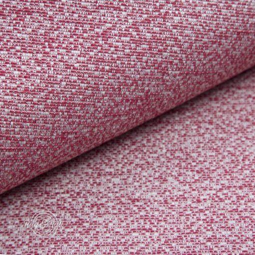 LINO 4 - piros, környezetbarát bútorszövet, 10% lentartalommal, természetes anyagokból