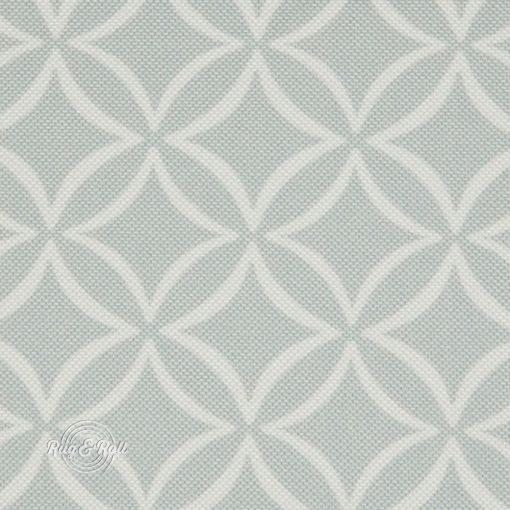 EVO 31 - halványszürke, geometrikus mintás bútorszövet