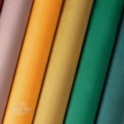 AMOR VELVET vízlepregető prémium bútorszövet 22 színben
