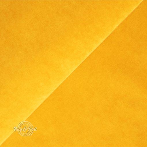 Salvador 10 - mustársárga, könnyen tisztítható, prémium bársony bútorszövet
