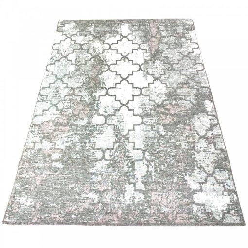 MORROCAN silver L, szürke-rózsaszín marokkói mintás szőnyeg, 160 x 200 cm